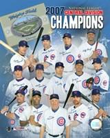 Cubs - 2007 NL Central Division Team Composite Fine Art Print