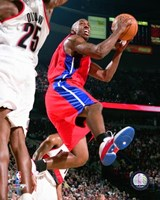 Chauncy Billups - 2007 Action Fine Art Print