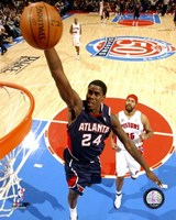 Marvin Williams 2007-08 Action Fine Art Print