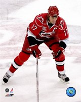Rod Brind'Amour 2007-08 Action Fine Art Print