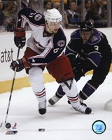 Rick Nash 2007-08 Action Fine Art Print