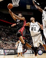 Udonis Haslem 2007-08 Action Fine Art Print