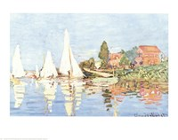 Boating at Argenteuil Fine Art Print