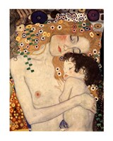 Three Ages of Woman - Mother and Child, c.1905 (detail) Fine Art Print