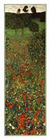 Field of Poppies, c.1907 (detail) - vertical Fine Art Print