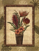 Paradisio Bouquet II Framed Print