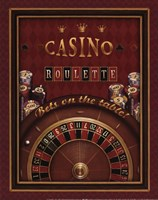 Roulette - mini Framed Print