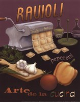 Ravioli Framed Print