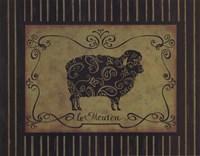 le Mouton Fine Art Print