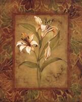 Garden Lilies I Fine Art Print