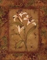 Garden Lilies II - mini Fine Art Print
