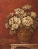 Villa Flora Hydrangeas - mini Framed Print