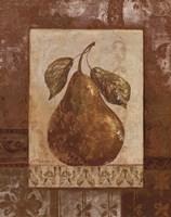 Rustic Pears II Framed Print