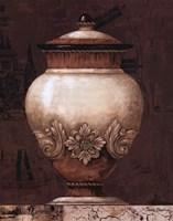 Timeless Urn I Framed Print