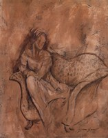 Courtesan I Fine Art Print