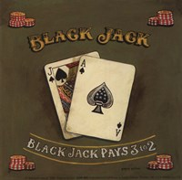 Blackjack - special Framed Print