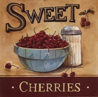 Sweet Cherries Framed Print
