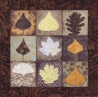 Leaf Mosaic II Framed Print