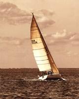 Weekend Sail II Fine Art Print