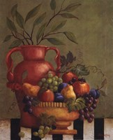 Fresco Fruit I Fine Art Print