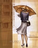 Rain Milano Fine Art Print