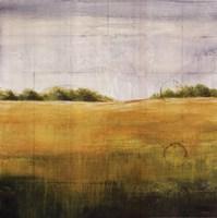 Earth Meets Sky II Framed Print