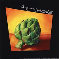 Artichoke - mini Framed Print