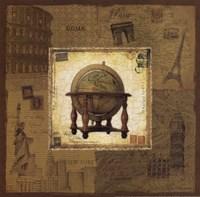 Globe II Framed Print
