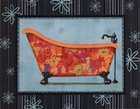 Retro Tub I Fine Art Print
