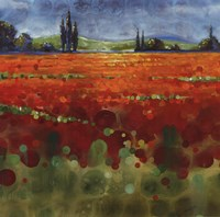 Spring Meadows II - mini Fine Art Print