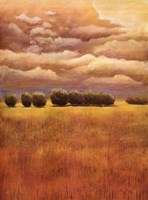 Golden Fields I Fine Art Print