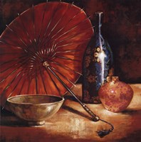 Asian Still Life I Fine Art Print