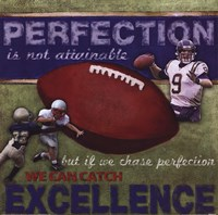 Perfection - Football Fine Art Print