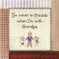 I'm Never in Trouble.. Fine Art Print