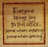 Everyone Brings Joy Framed Print