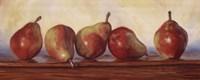Pears II Fine Art Print