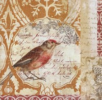 Bird Collage Study I Fine Art Print
