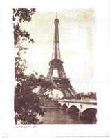 Eiffel Tower 8 x10 Framed Print
