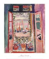 The Open Window, Collioure, 1905 Fine Art Print