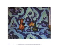 Still Life with Tablecloth Fine Art Print