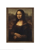 Mona Lisa, c.1507 Framed Print