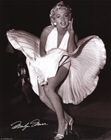 Marilyn Monroe - Seven Year Itch Wall Poster