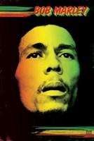 Bob Marley - Face Wall Poster