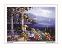 Jewel of the Riviera Framed Print