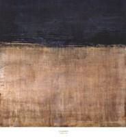 Pompeian Teal Framed Print