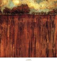Horizon Line with Trees I Fine Art Print