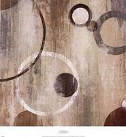 Orlando Mod Circles II Framed Print