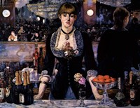 A Bar at the Folies-Bergere Fine Art Print