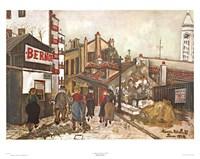 La Maison Bernot Fine Art Print