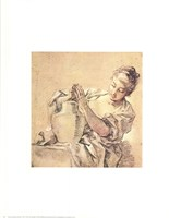 Girl with Jug Fine Art Print